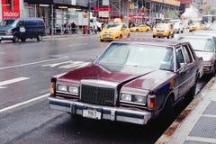 Lincoln Car Fotografía de archivo