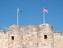 Lincoln Castle Royalty-vrije Stock Foto