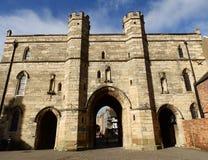 Lincoln Castle, de Poort van het Oosten Royalty-vrije Stock Foto
