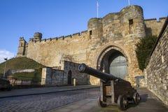 Lincoln Castle in Lincoln het UK stock fotografie