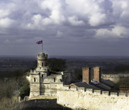 Lincoln castle turret Royalty Free Stock Photo