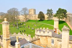 Lincoln Castle Stock Photography