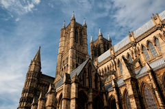Lincoln Cathedral Stock Afbeeldingen