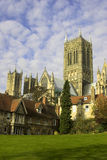 Lincoln Cathedral. In the historic city of Lincon, England, U.K Stock Photo