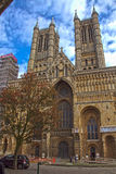 Lincoln Cathedral Royaltyfria Bilder
