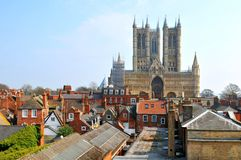Lincoln Cathedral Imagem de Stock