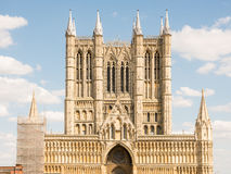 Lincoln Cathedral photo stock