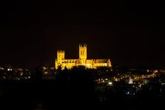 Lincoln Cathedral Royaltyfria Bilder