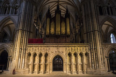 Lincoln Cathedral Royaltyfria Foton