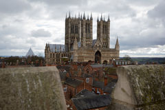 Lincoln Cathedral Photographie stock