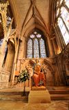 Lincoln Cathedral-binnenland Royalty-vrije Stock Afbeelding