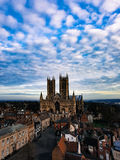Lincoln cathedral December 2016. Once the 2nd highest building in the world Stock Images