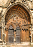 Lincoln Cathedral doorway Royalty Free Stock Photo