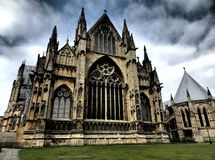 Lincoln cathedral,east face Stock Photography
