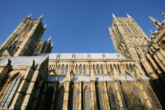 Lincoln Cathedral Exterior Royalty Free Stock Photos