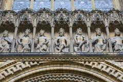 Lincoln Cathedral Exterior Stockbilder