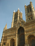 Lincoln Cathedral. The front of Lincoln Cathedral, Lincoln Stock Photos