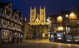 Lincoln Cathedral in the historic city of Lincoln, UK Stock Image