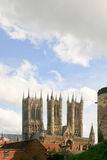 Lincoln Cathedral Hudge Three Towers Foto de Stock Royalty Free
