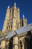 Lincoln Cathedral i Lincoln UK Royaltyfri Foto