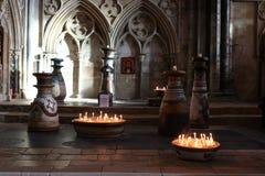 Lincoln Cathedral interior Fotografía de archivo libre de regalías