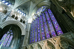 Lincoln Cathedral Interior Stock Images