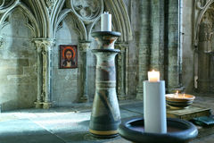 Lincoln Cathedral Interior Stock Photos