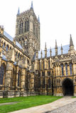 Lincoln Cathedral Lincoln, England Royaltyfri Foto