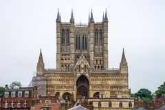 Lincoln Cathedral, Lincoln, England, Stock Photo