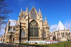 Lincoln Cathedral, Lincoln, le Lincolnshire, Angleterre Images stock