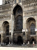 Lincoln cathedral,main entrance Royalty Free Stock Photography