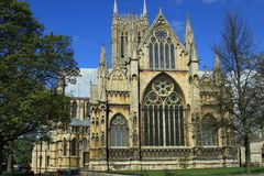 Lincoln Catherdral Stock Photography