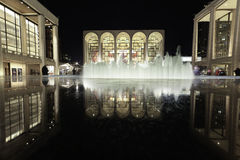 Lincoln Center για τις τέχνες προς θέαση Στοκ Εικόνα