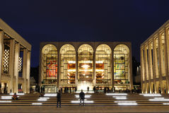 Lincoln Center. The Metropolitan Opera at the center of Lincoln Center in in New York City. It is a world renown performance space Stock Photos