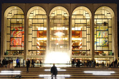 Lincoln Center. The Metropolitan Opera at the center of Lincoln Center in in New York City Royalty Free Stock Image