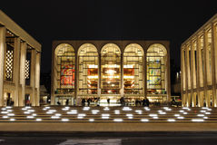 Lincoln Center. The Metropolitan Opera at the center of Lincoln Center in in New York City Stock Photography