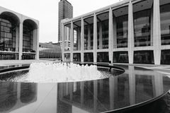 Lincoln Center Fotos de archivo libres de regalías