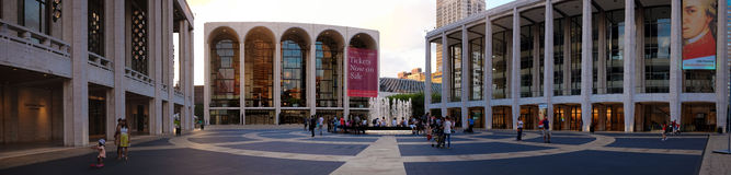 Lincoln Center lizenzfreies stockfoto