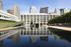 Lincoln Center, editoriale Immagini Stock Libere da Diritti