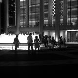 Lincoln Center Fountain Foto de archivo libre de regalías