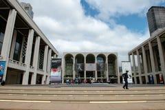 Lincoln Center New York City royaltyfria foton