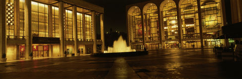 Lincoln Center at night, New York, NY Royalty Free Stock Image