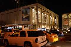 Lincoln Center Night Shots 10 Royalty-vrije Stock Fotografie