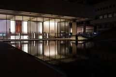 Lincoln Center Night Shots 94 Royaltyfri Bild