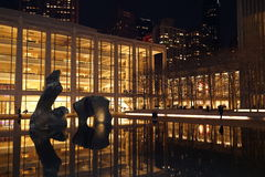 Lincoln Center Night Shots Part 2 48 Royaltyfria Foton