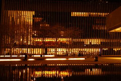 Lincoln Center Night Shots Part 2 62 Royaltyfri Bild