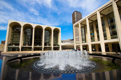Lincoln Center-Piazza Stockfoto