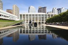 Lincoln Center, redactie Royalty-vrije Stock Afbeeldingen