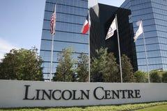 Lincoln Centre, Dallas Texas images stock