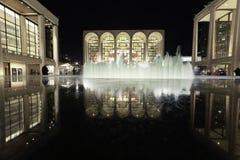 Lincoln centrerar för föreställningskonstarna Fotografering för Bildbyråer